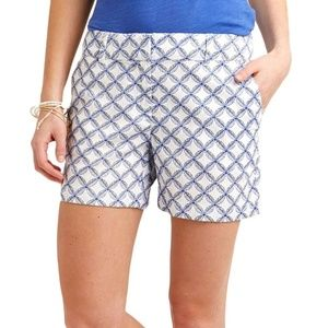 Vineyard Vines Leaf Print Shorts size 8